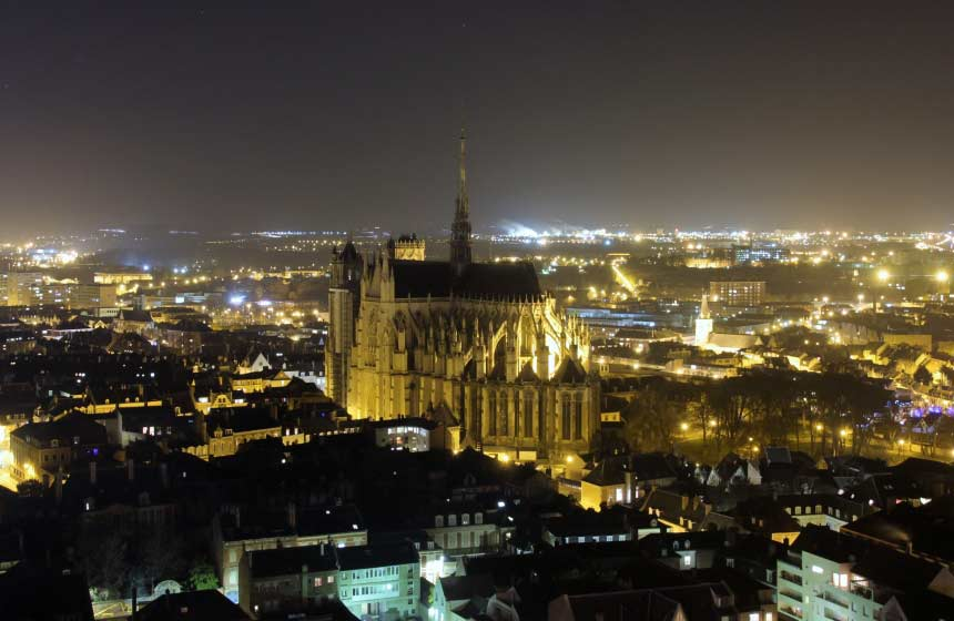 Cathédrale d'Amiens by night