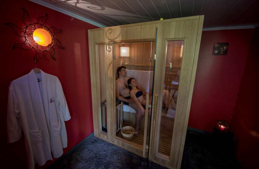 Le spa au Clos du Clocher