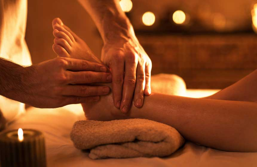 Massage - Les Glycines de Saint Sulpice