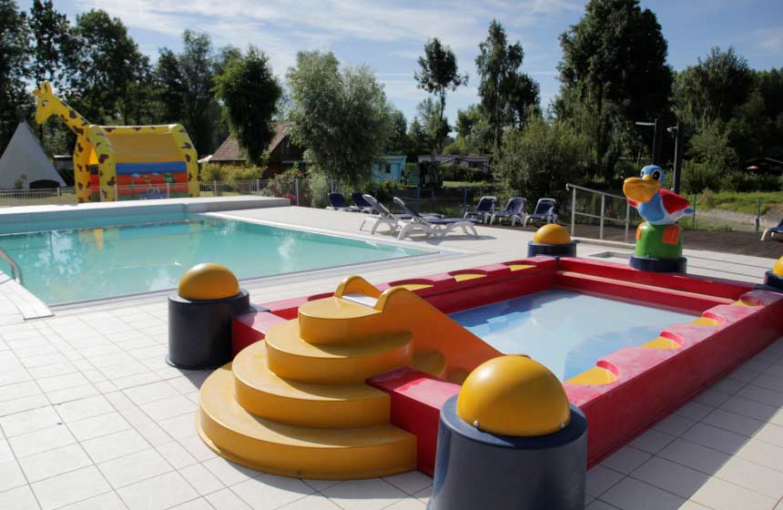 Piscine camping les puits tournants Sailly-le-sec