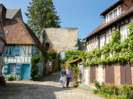 Gerberoy, l'un des plus beau village de France