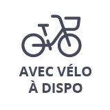 Vélo à disposition